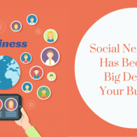 social networking has become a big deal for your business