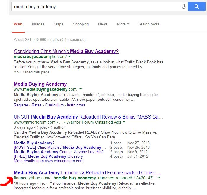 Press Release On-Page SEO, Ranking on Google