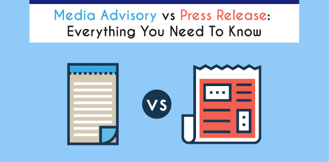 Feature Image Media advisory vs press release everything you need to know