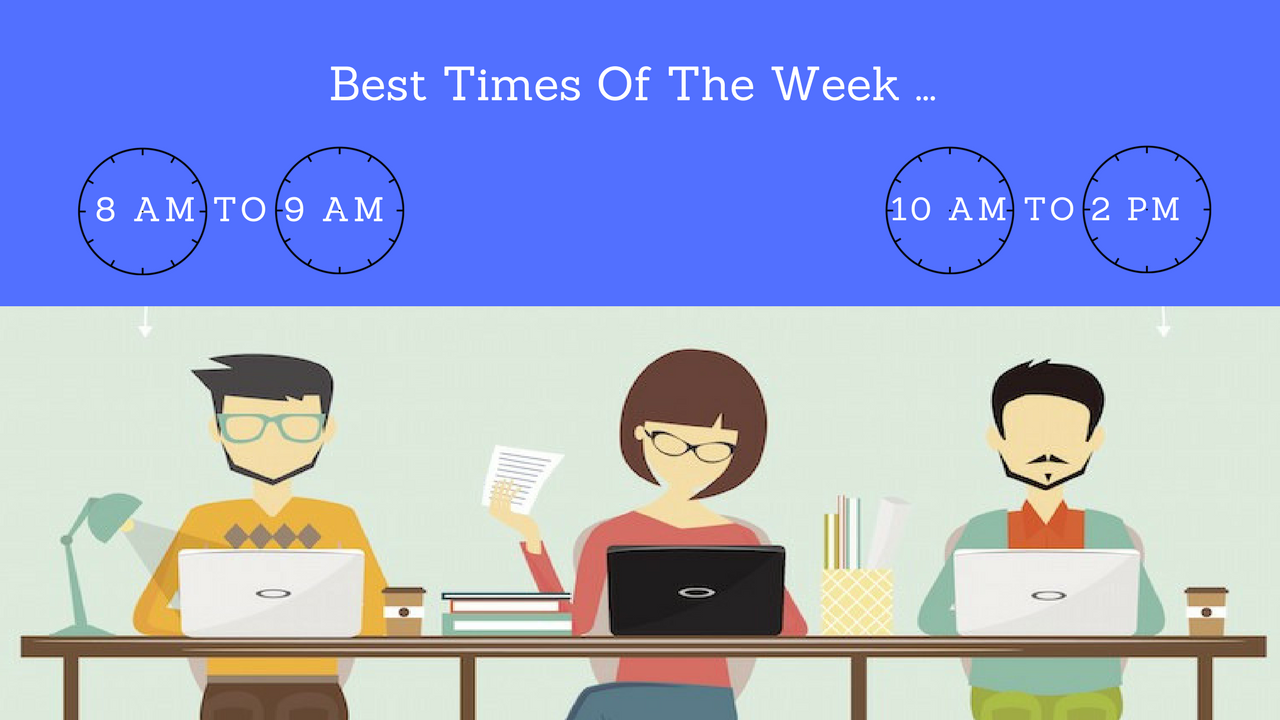 Best Times of the week To send Press Release