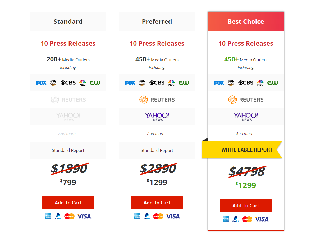 Picture of MarketersMEDIA Year End Sale Pricing