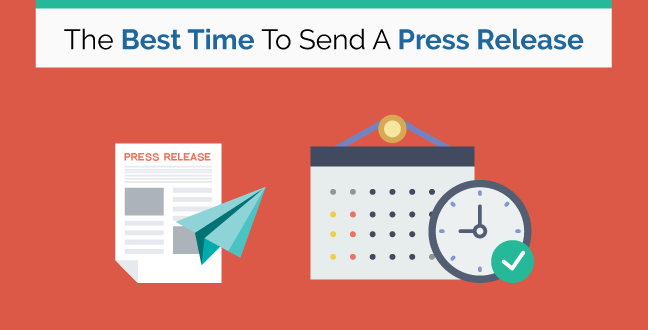 Feature image of The best time to send a press release