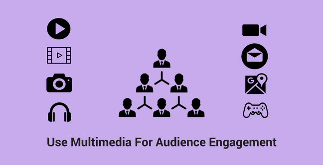 Press Release: Use Multimedia For Audience Engagement