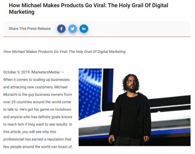 Holy Grail of Digital Marketing